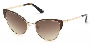 GU7598 50G Okuliare GUESS Dark Brown Brown Mirror