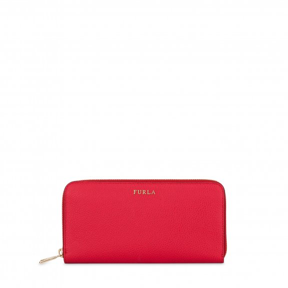 903025 Peazenka FURLA BABYLON XL ZIP AROUND RUBY