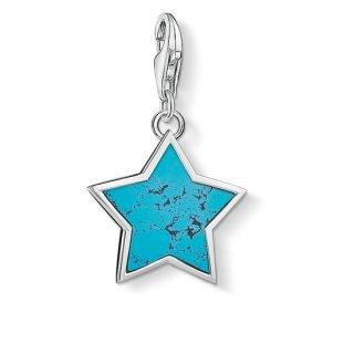 1532 404 17 Privesok THOMA SABO TURQUOISE STAR