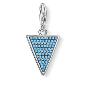 1579 667 17 Privesok THOMAS SABO TRIANGLE TURQUOISE