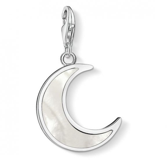 1536 029 14 Privesok THOMAS SABO MOON MOTHER OF PEARL