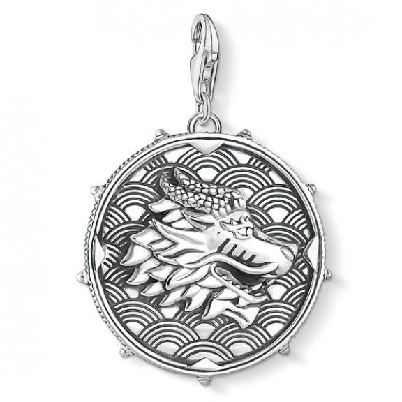 1699 637 21 Privesok THOMAS SABO DISC DRAGON TIGER