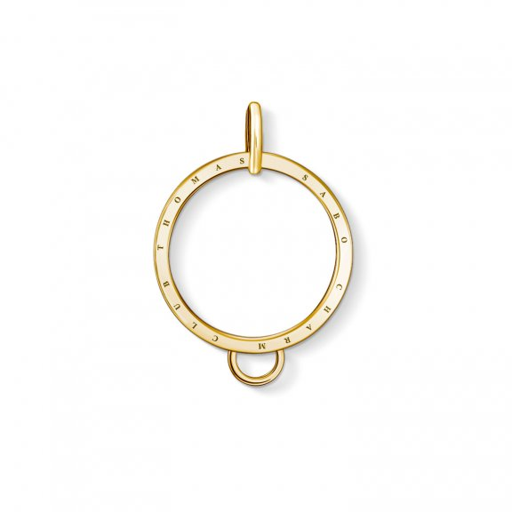 X0266 413 39 Charms drziak THOMAS SABO CIRCLE GOLD