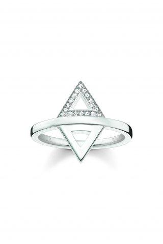D TR0019 725 14 Strieborny prste THOMAS SABO s diamantmi2