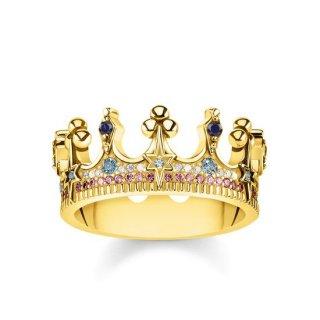 TR2224 959 7 Prste THOMAS SABO CROWN GOLD2